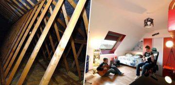 combles d 39 en france am nagement des combles et sur l vations. Black Bedroom Furniture Sets. Home Design Ideas