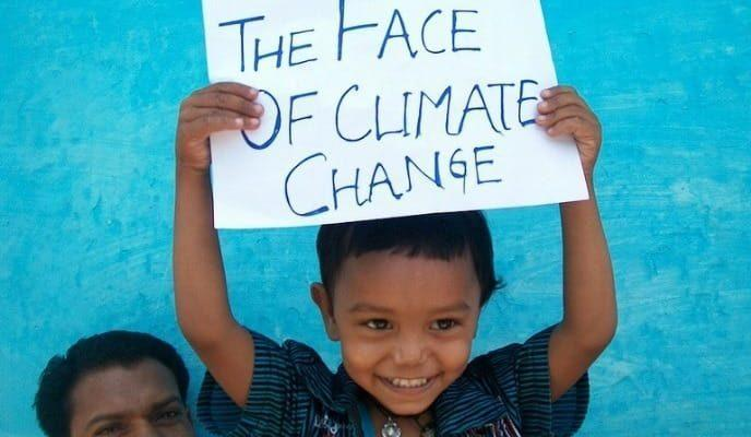 The Face of Climate Change