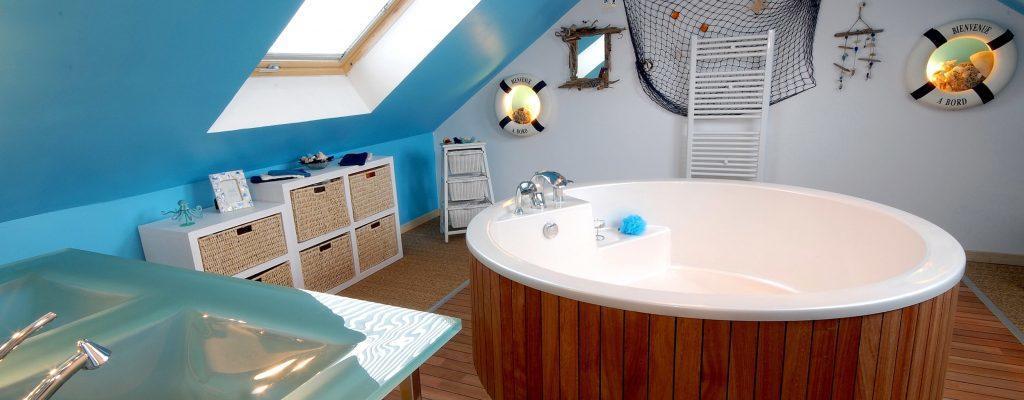 Offrez-vous une nouvelle salle de bain sous combles
