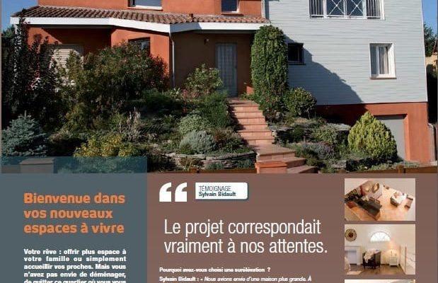Magazine Combles d'en France surélévation